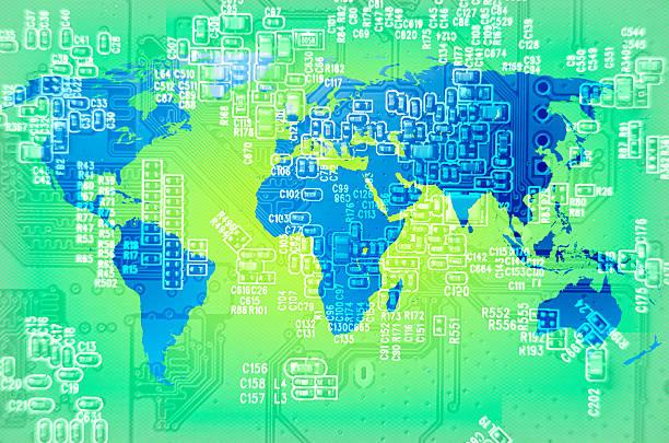 Digitale techno Welt – Foto