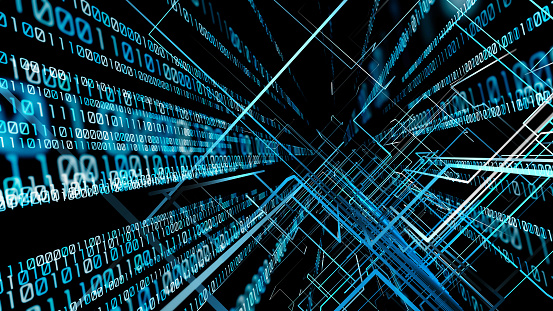 1146014337 istock photo Digital technology concept. Binary code. 1033717120
