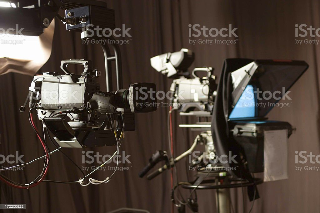 Digital Television Equipment royalty-free stock photo