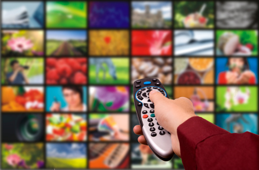 Digital Television Remote Control Stock Photo - Download Image Now