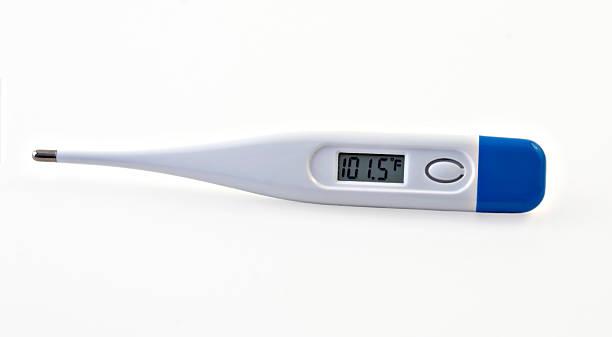 Digital Thermometer stock photo