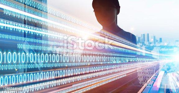 Digital transformation concept. Agile development. Corporate business.