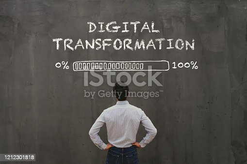 digital transformation concept in business, disruption