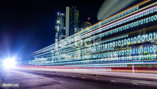 Digital transformation concept.