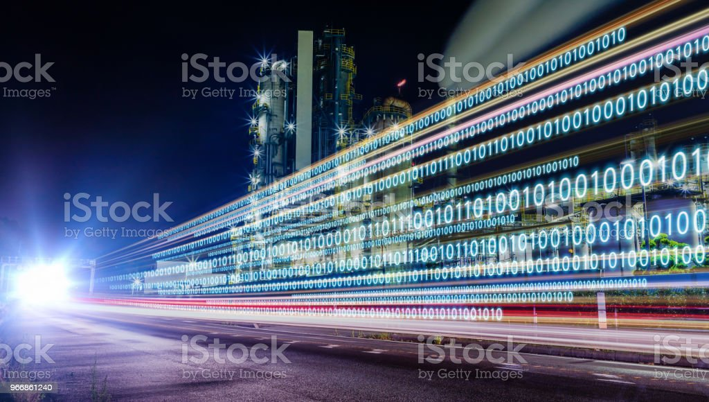 Concepto de transformación digital. - foto de stock