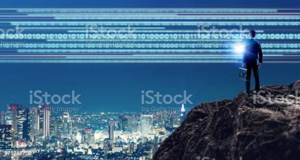 Photo of Digital transformation concept.