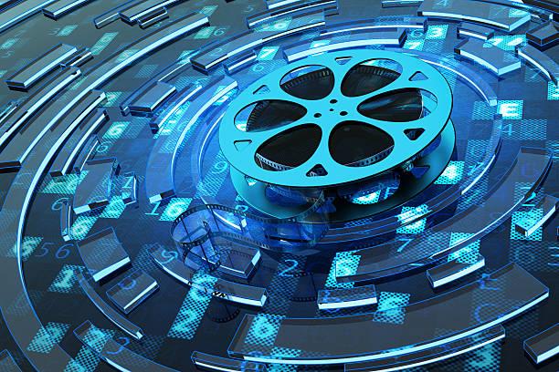 concept multimédia et vidéo numérique - Photo