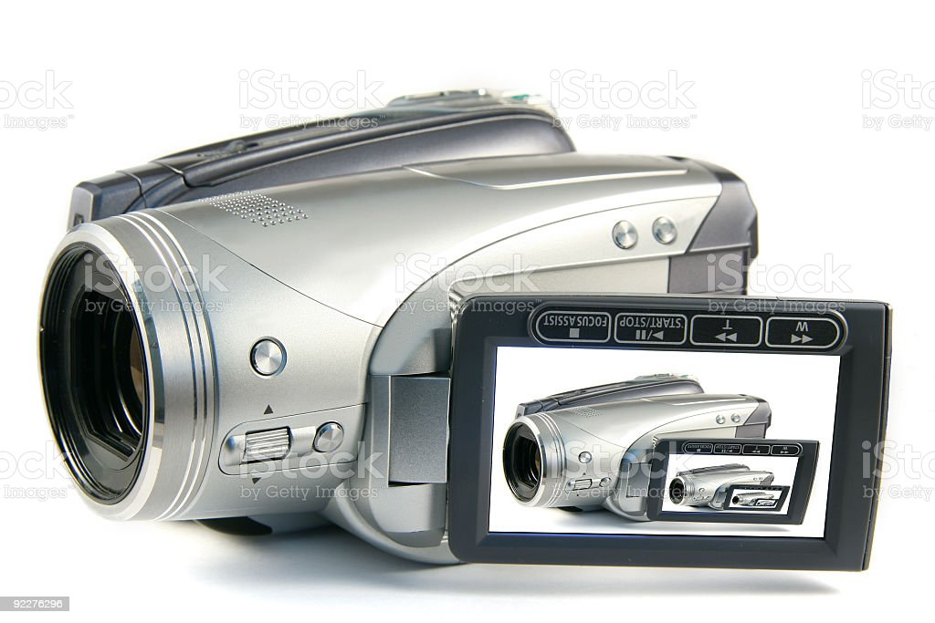 Digital Video Camera royalty-free stock photo