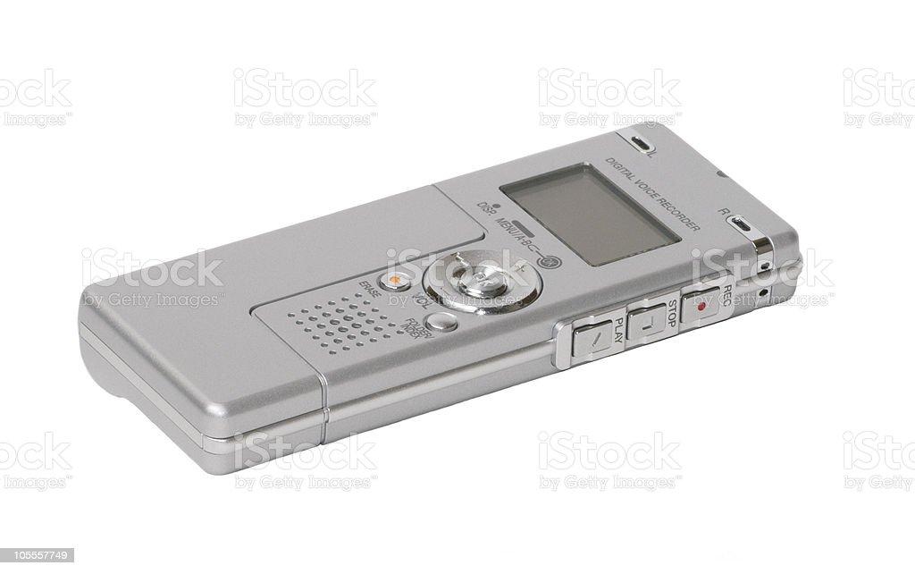 Digital Voice Recorder stock photo