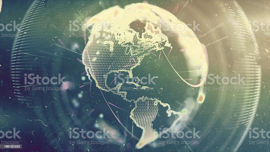 Mundo Digital - Foto de stock de Azul libre de derechos