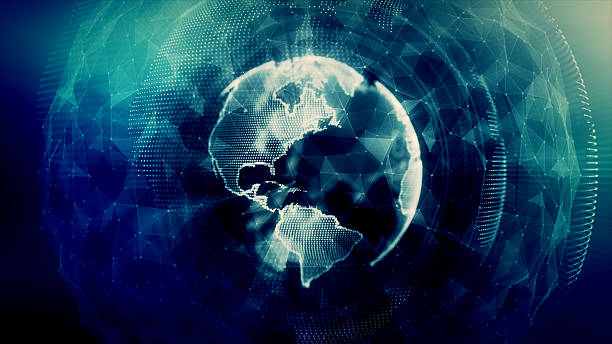 digital world - jorden nyheter bildbanksfoton och bilder