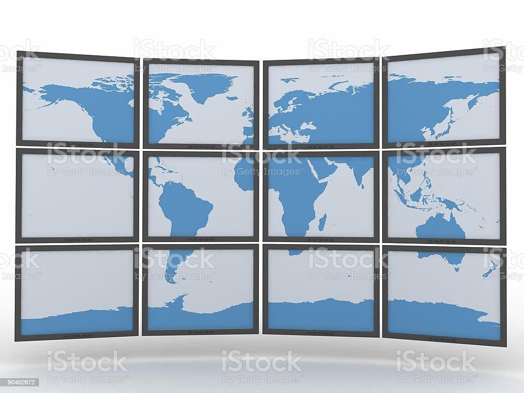 Digital World royalty-free stock photo