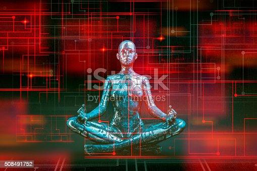 Digital zen of the future.