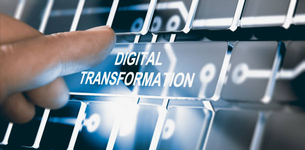 digitalisering, digital transformation koncept - digital skärm bildbanksfoton och bilder