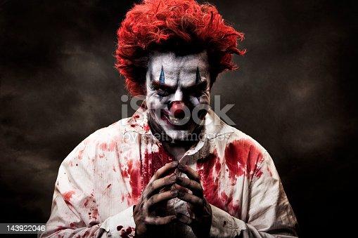A stock photo of a creepy evil vampire clown. [url=http://www.istockphoto.com/search/lightbox/10593020#1071a130][IMG]http://www.bellaorastudios.com/banners/new01.jpg[/IMG][/url]