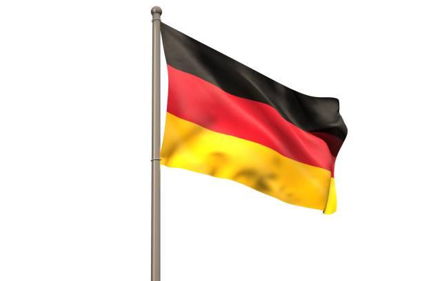 numérique drapeau allemand - drapeau allemand photos et images de collection