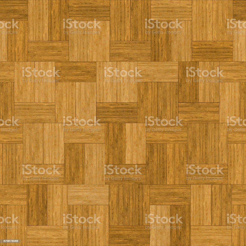 Digitally generated seamless wood boards in parquet pattern stock photo