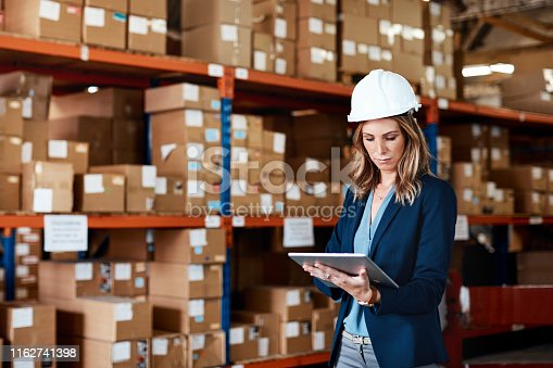 istock Digitising the distribution process 1162741398