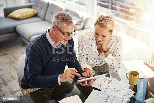 istock Digitizing the budgeting process 869595964