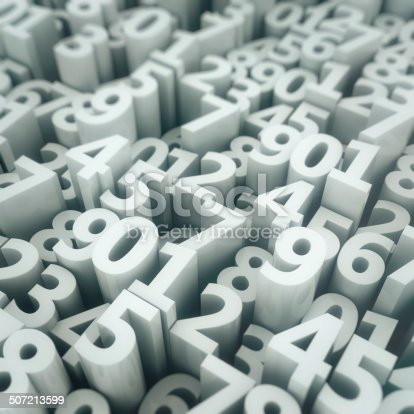 520660497 istock photo Digits matrix 507213599