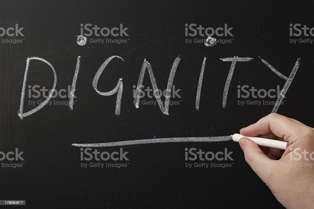 Dignity royalty-free stock photo