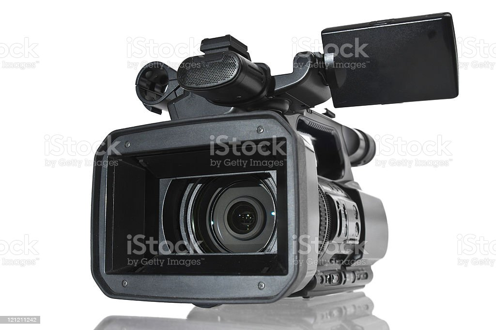 Digtal Video Camera royalty-free stock photo