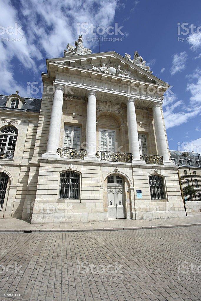 Dijon, Burgundy royalty-free stock photo