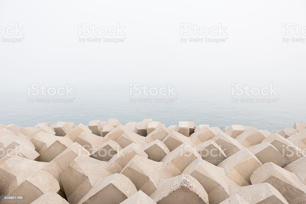 Dike stock photo