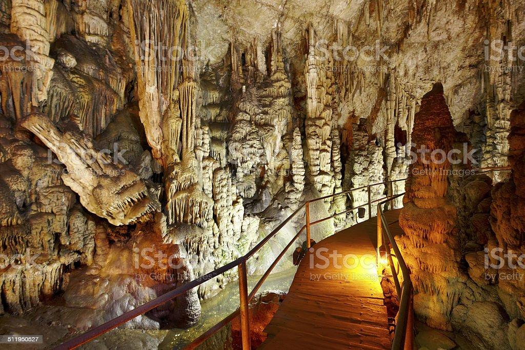 Dikteon-Höhle geboren wurde.  Place of Zeus Geburt.  Kreta.  Griechenland – Foto