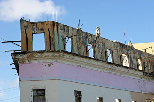 Dilapidated Building stock photo