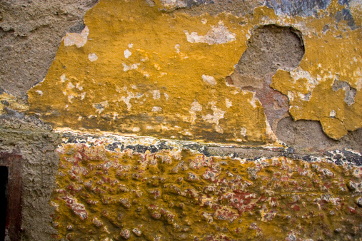 Dilapidated Wall Stock Photo - Download Image Now