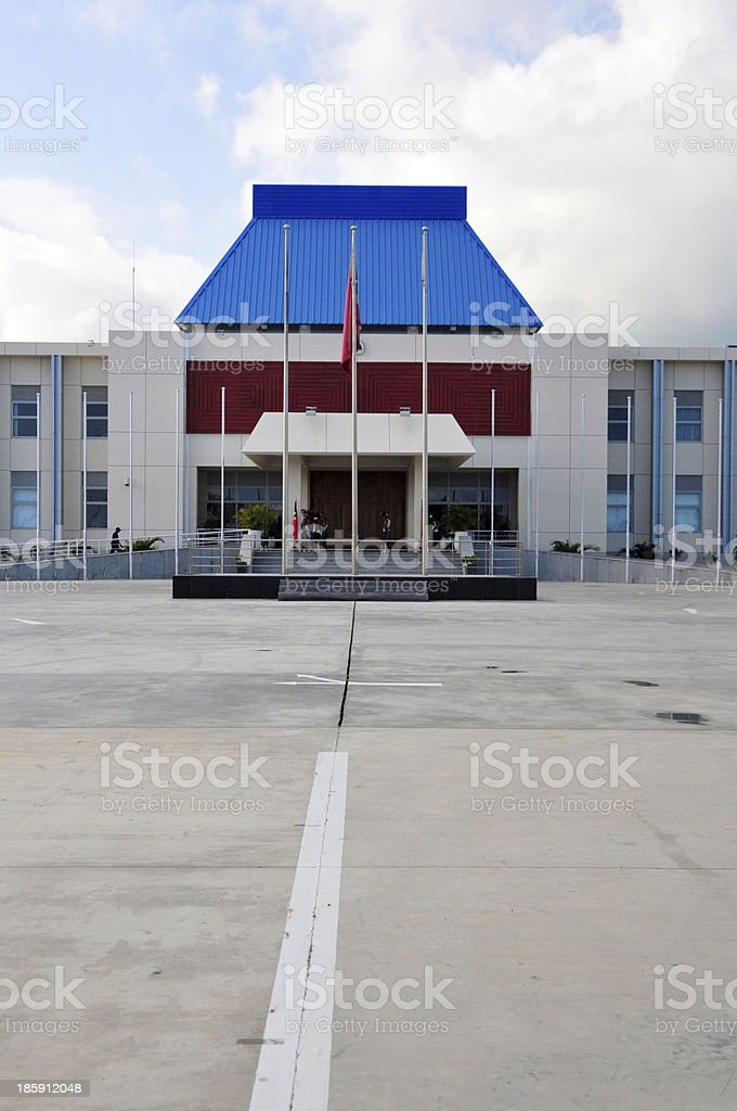 Dili, East Timor: Presidential Palace stock photo