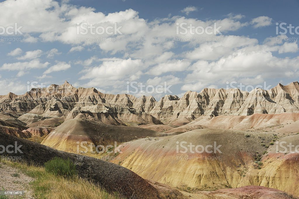 Dillon Pass in the Badlands stock photo