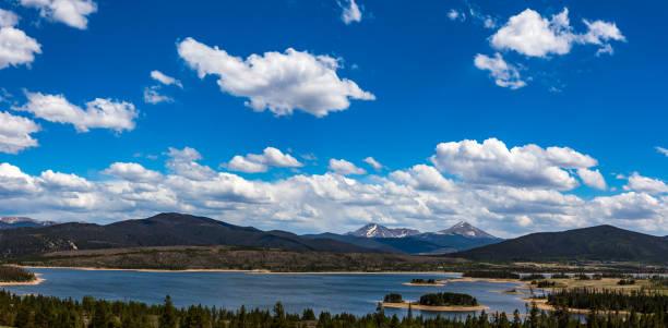 Dillon Reservior Frisco Colorado stock photo