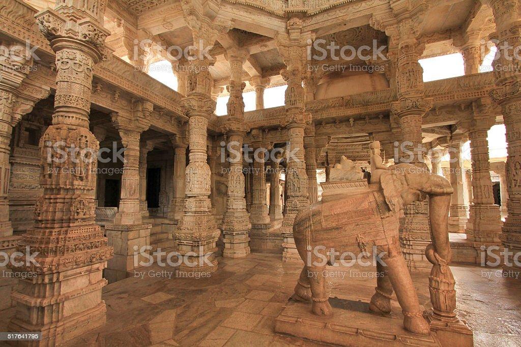 Dilwara Jain Temple stock photo