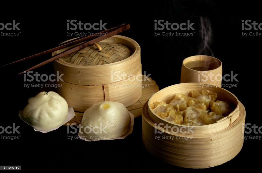 Dim sum chinese food. stock photo