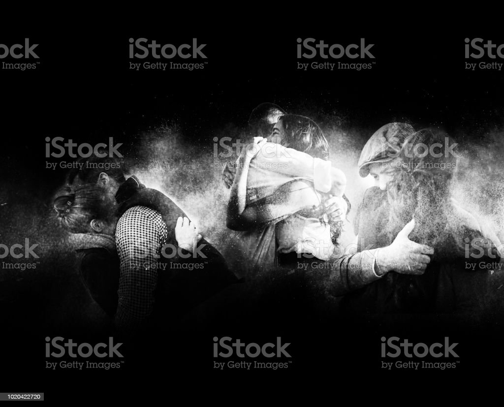 Dimension of lost hugs stock photo