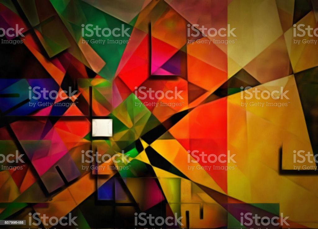 DImensional Abstract stock photo