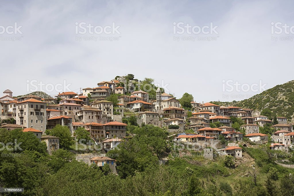 Dimitsana, Greece stock photo