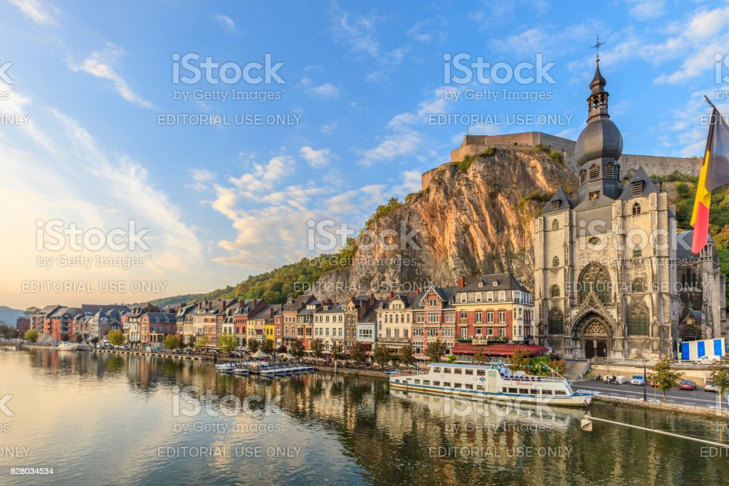 Dinant, Belgium stock photo