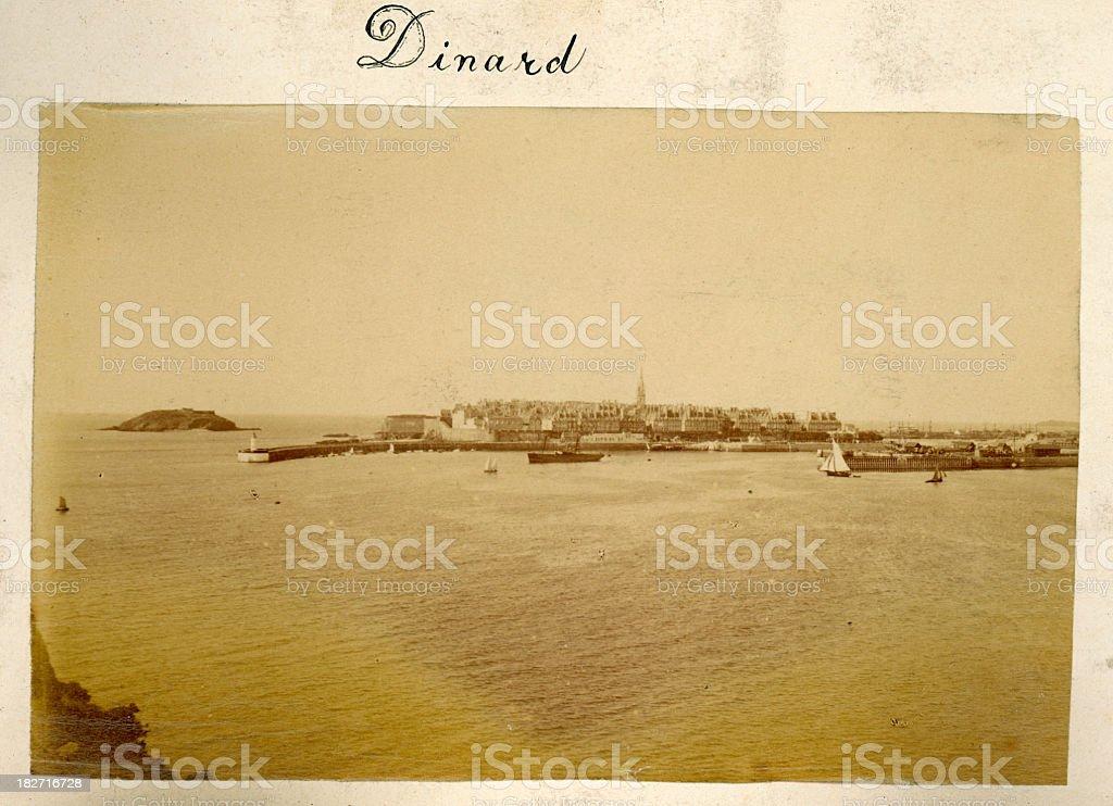 Dinard, France royalty-free stock photo