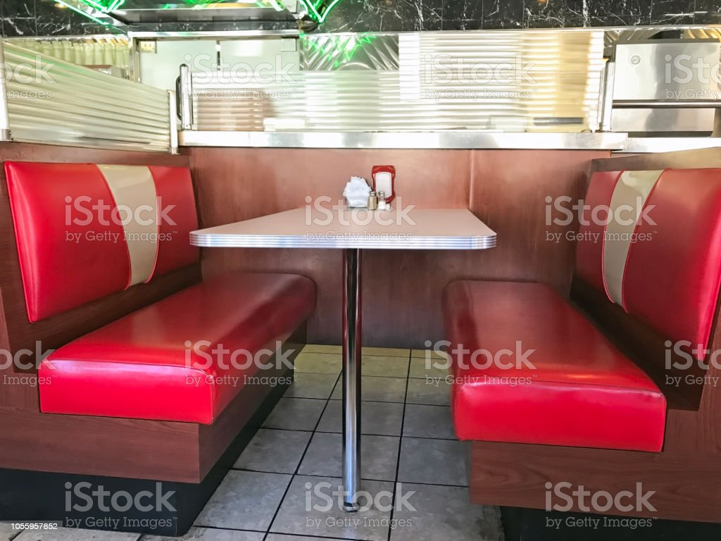 Diner Booth Stock Photo Download Image Now Istock