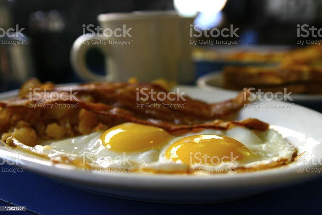 Diner Breakfast stock photo