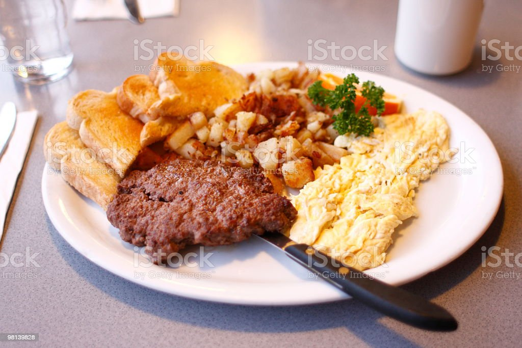 Diner Breakfast royalty-free stock photo