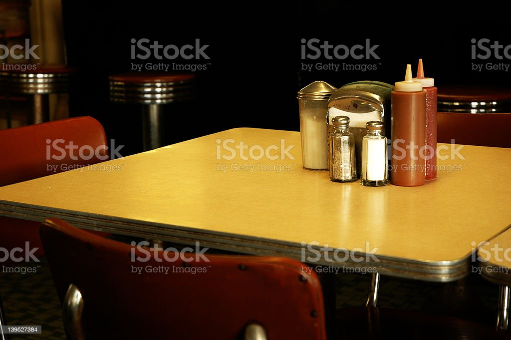 Diner stock photo