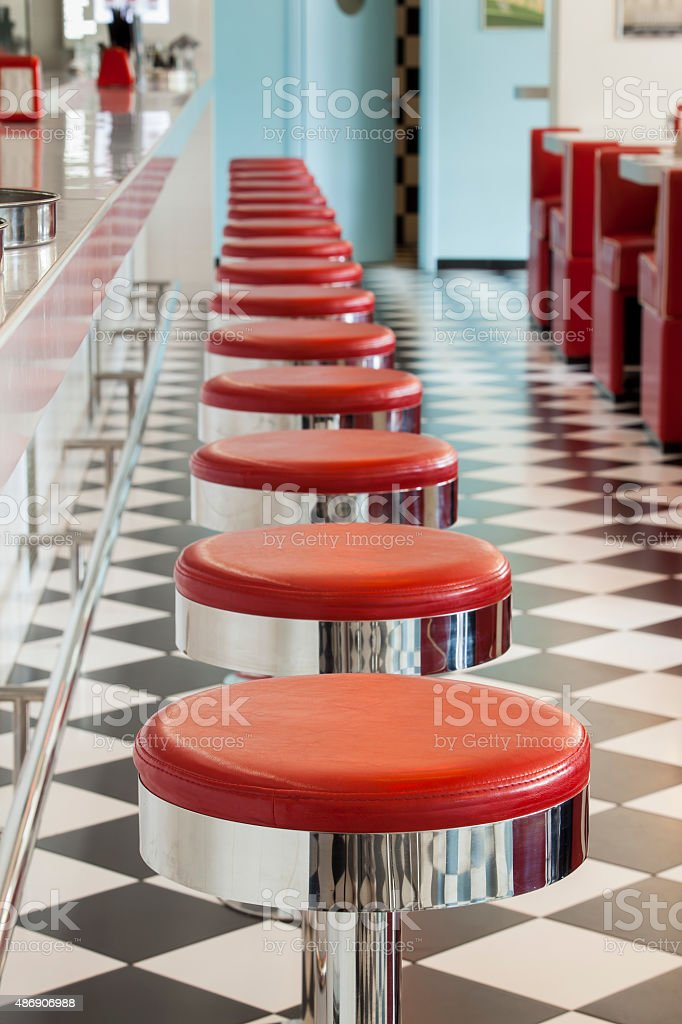 diner restaurant stock photo
