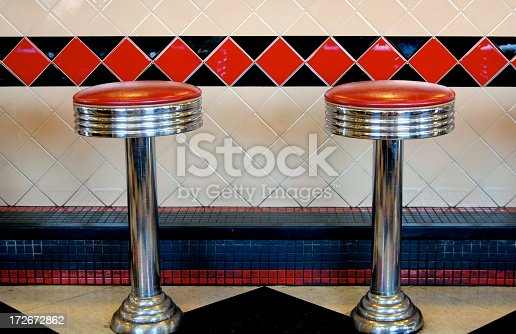 istock Diner Stools 172672862