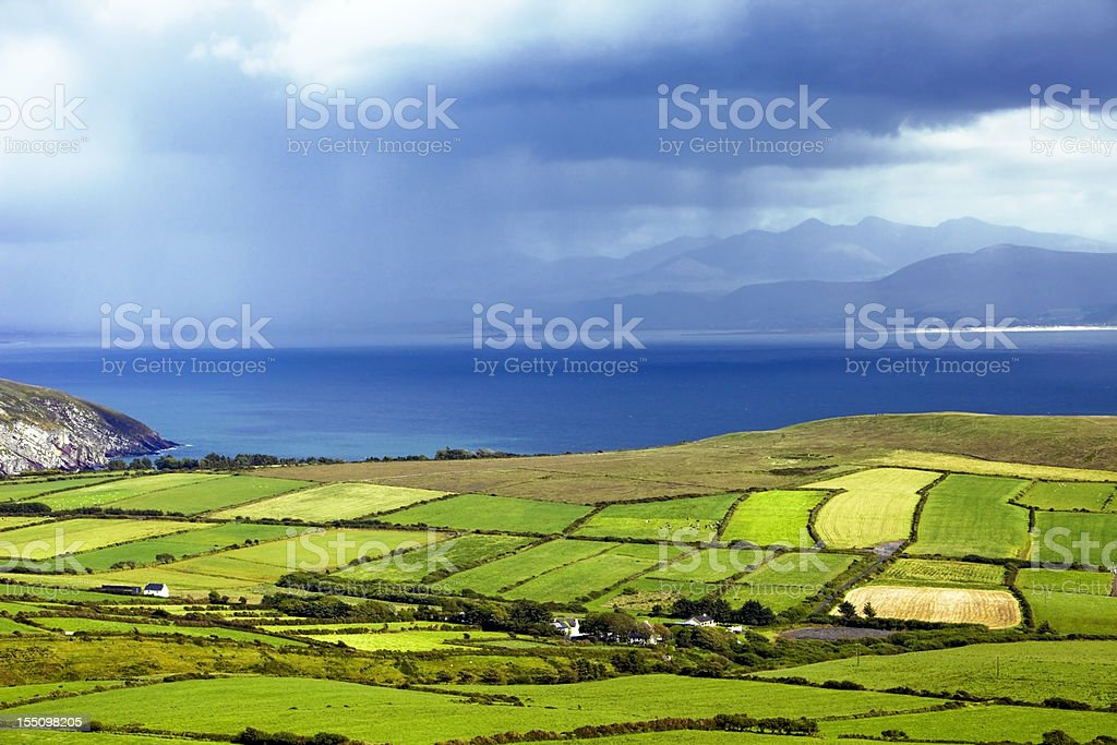 Dingle Peninsula in Ireland stock photo
