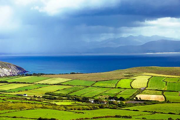Dingle Peninsula in Ireland stock photo