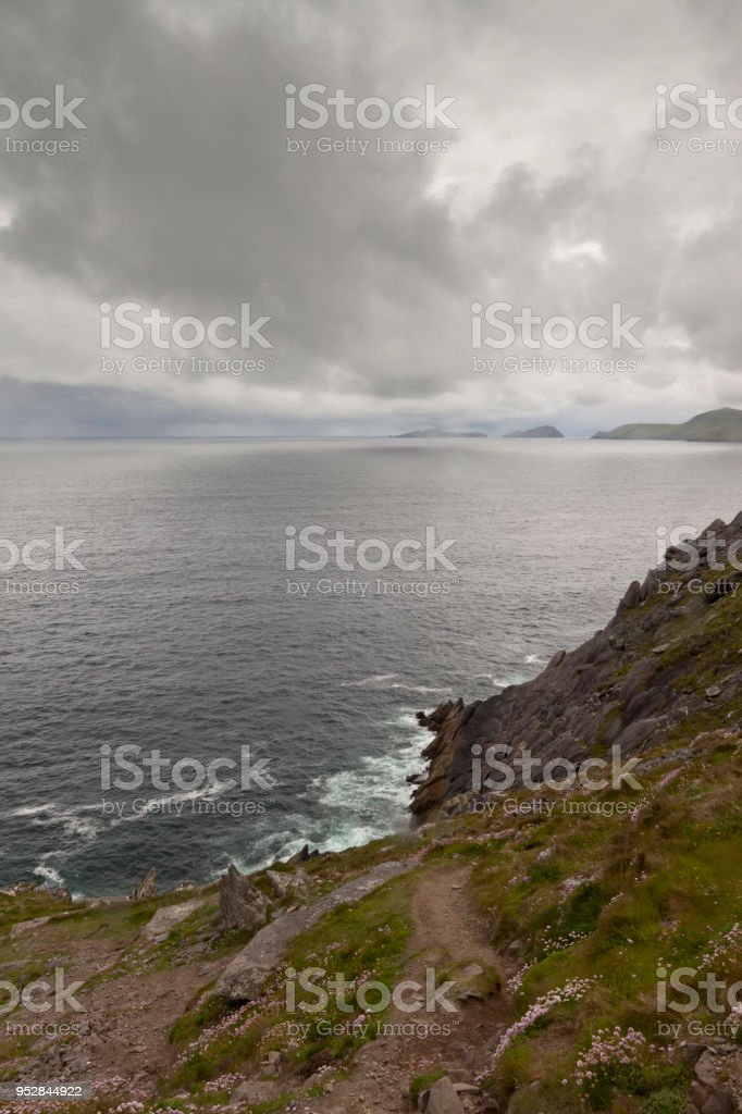 Dingle Peninsula Seascape stock photo